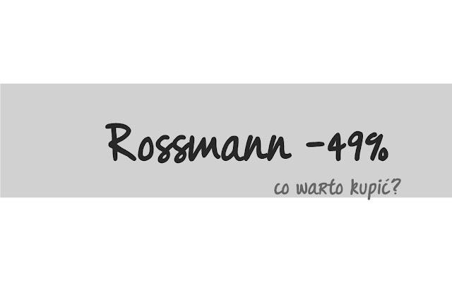 Wiosenna promocja -49% Rossmann - kwiecień 2016