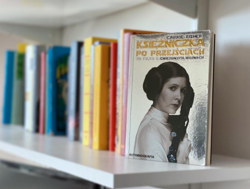 Księżniczka po przejściach, czyli dniokobietowa wariacja na temat autobiografii Carrie Fisher