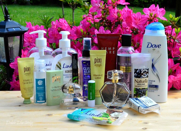 Kosmetyczne zużycia - denko maj - minirecenzje