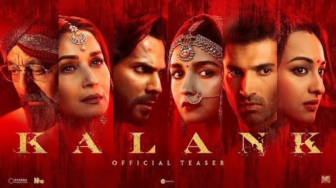 REVIEW; FILM INDIA KALANK