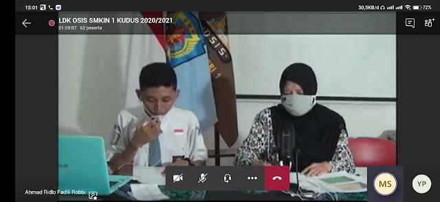 Aksi Guru SMK N 1 Kudus Mencegah Kekerasan Berbasis Gender ditengah Pandemi Covid-19