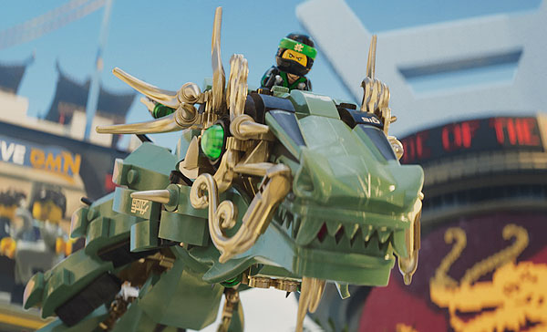 Lloyd plays the Green Ninja in THE LEGO NINJAGO MOVIE (2017)