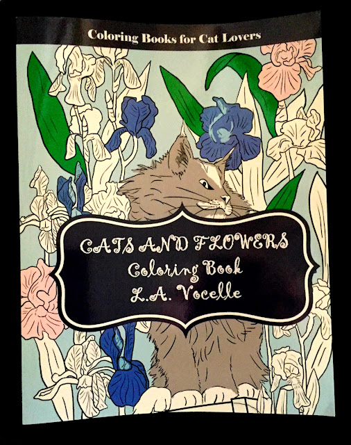 What Better Way To Celebrate Than Spend Some Downtime Coloring In The Beautiful Cats And Flowers Book By LA Vocelle