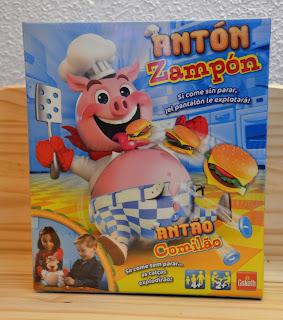 Antón Zampón, el cerdito comilón!!!