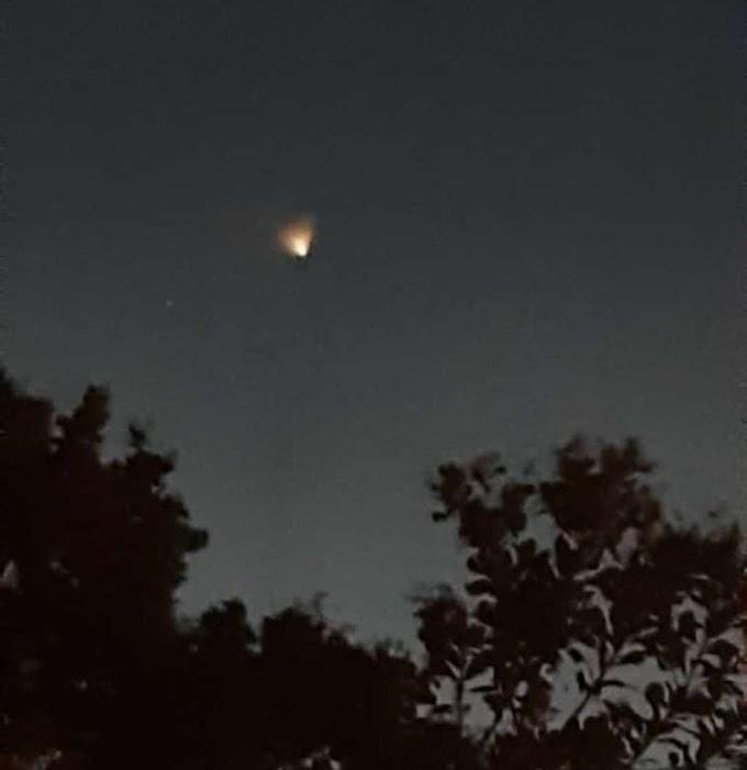 Objeto que cruzou o céu do RN foi um foguete chinês