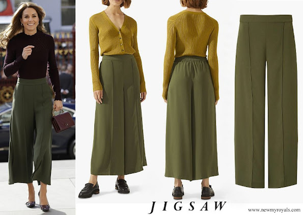 Kate Middleton wore Jigsaw Culottes