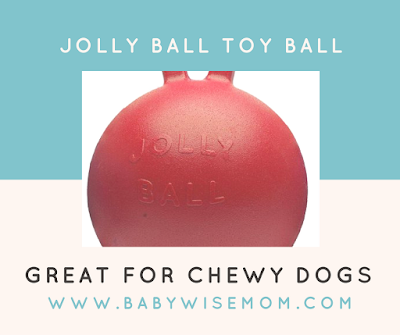 Toy Ball for the Chewiest of Dogs {Friday Finds}