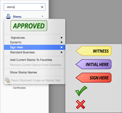 How to Make Colored (and more attractive) Checkmarks for Acrobat Fill and Sign