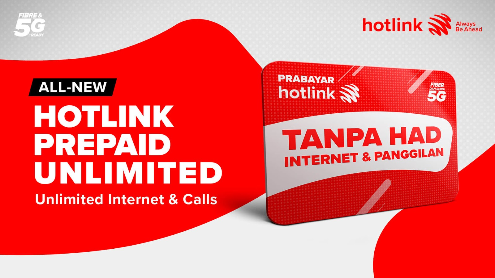 Hotlink Prepaid now with truly unlimited Internet and Calls