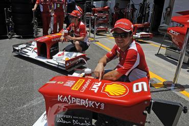 FÓRMULA 1  Carros da Scuderia Ferrari terão patrocínio brasileiro a partir  do GP do Brasil 0400aa0634d