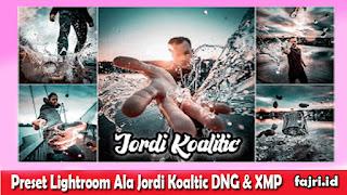 Preset Lightroom Ala Jordi Koaltic DNG & XMP