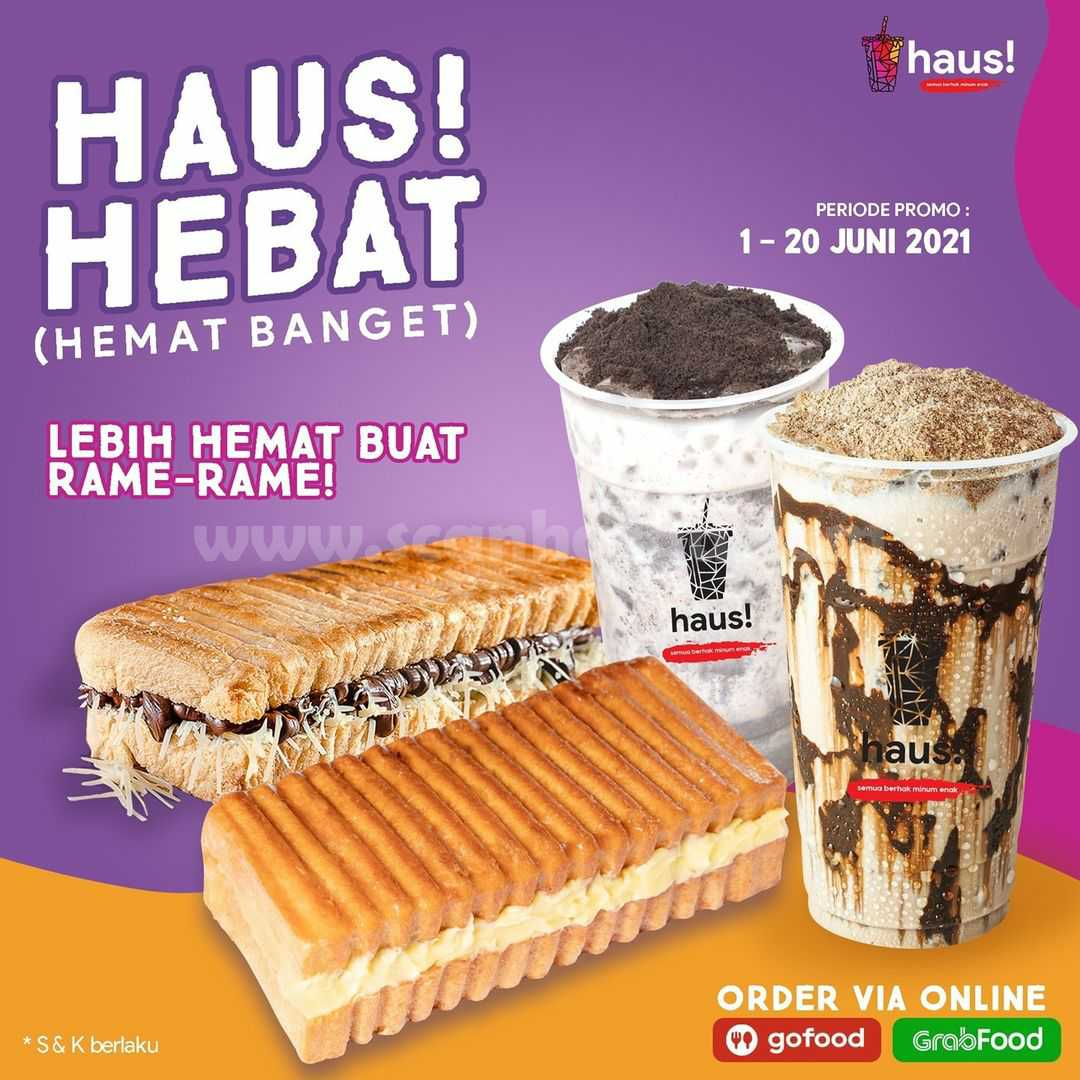 HAUS! Promo Paket HAUS HEBAT (HEMAT BANGET) via GOFOOD