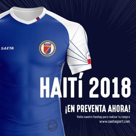 ハイチ代表 2018 ユニフォーム-ホーム-アウェイ