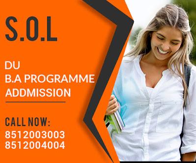 """""""Sol-DU-Admission-BA-Program"""