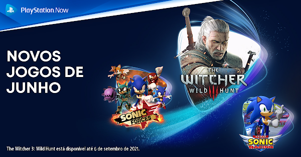 The Witcher III: Wild Hunt, Team Sonic Racing, Sonic Mania, SONIC FORCES, Virtua Fighter 5: Ultimate Showdown, Car Mechanic Simulator e Slay the Spire chegam em junho ao catálogo do PlayStation Now