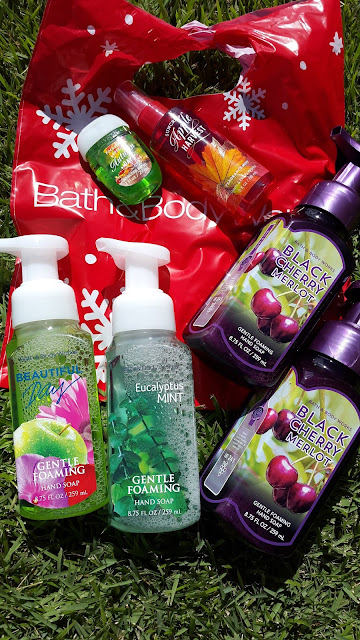 Bath and Body Works haul www.modenmakeup.com
