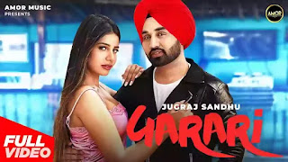 Checkout Jugraj Sandhu new song Garari lyrics penned by Urs Guri