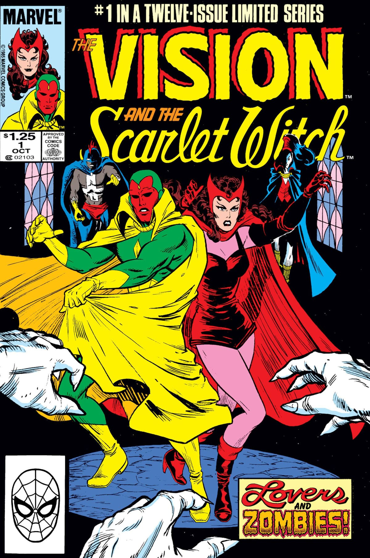 Vision and the Scarlet Witch Vol 2 #1