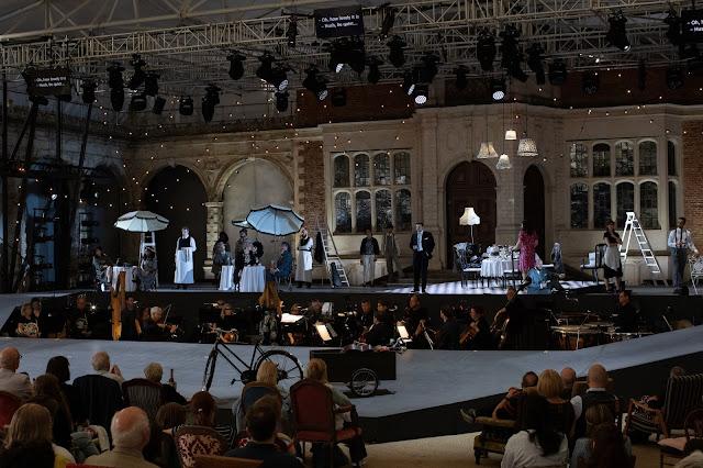Mascagni: L'amico Fritz - Opera Holland Park, 2021 (Photo Ali Wright)