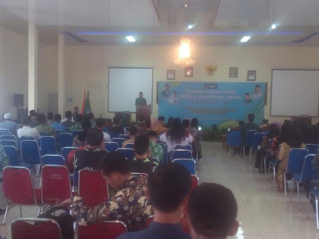 Pelantikan Pengurus Wilayah Mathla'ul Anwar (PWMA) Provinsi Lampung 2019-2024