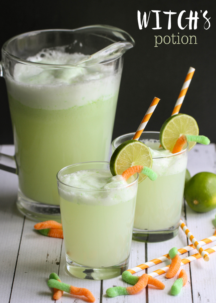 WITCH'S POTION DRINK ##healthydrink #yummy #cocktail #smoothie #party