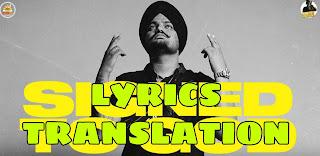 Signed To God Lyrics in English | With Translation | – Sidhu Moose Wala