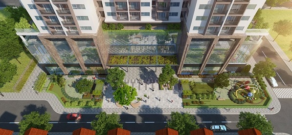 Phối cảnh khuôn viên dự án Eco Dream City