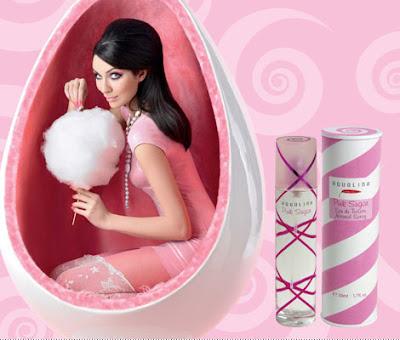 Pink Sugar aquolina perfume com cheiro de algodao doce