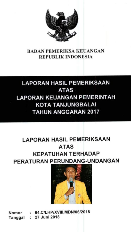 Audit BPK, insert Saiful Rangkuti.