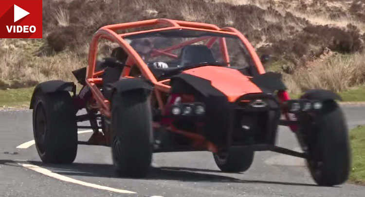 Luxury Vehicle: Take A Dune Buggy, Combine It With A Go-Kart And Rally Car