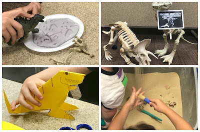 Preschool dinosaur activities