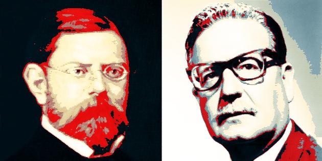 Ramón Allende y Salvador Allende, vacunas