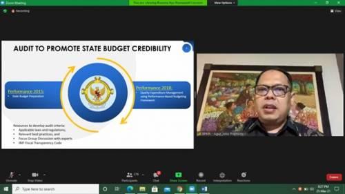 Peran BPK Mendukung Kredibilitas Anggaran dalam Forum Internasional