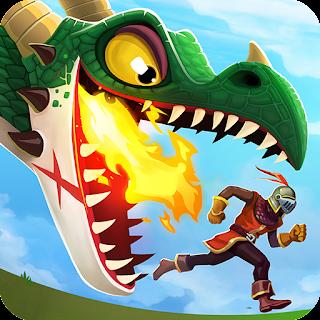 لعبة Hungry dragon مهكرة للاندرويد