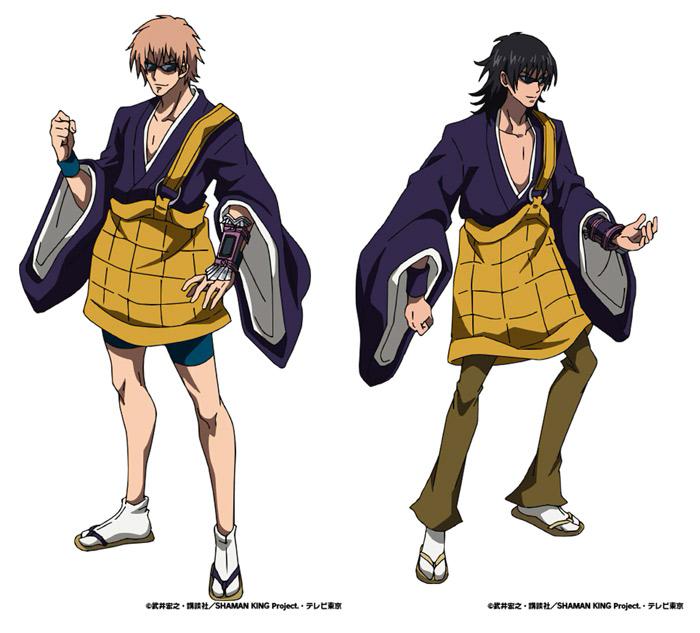 Shaman King anime 2021 - Hermanos BoZ