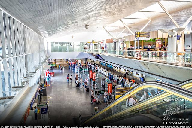 O Aeroporto Internacional de Cuiabá – Marechal Rondon amplia mix comercial e passa a contar com sala VIP | Foto © Herbert Monfre - Fotógrafo de avião - Eventos - Publicidade - Ensaios - Contrate o fotógrafo pelo e-mail cmsherbert@hotmail.com | Imagem produzida por Herbert Pictures - É MAIS QUE VOAR