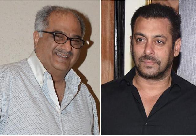 Boney Kapoor,  Salman Khan,  Boney Kapoor Salman Khan Relations
