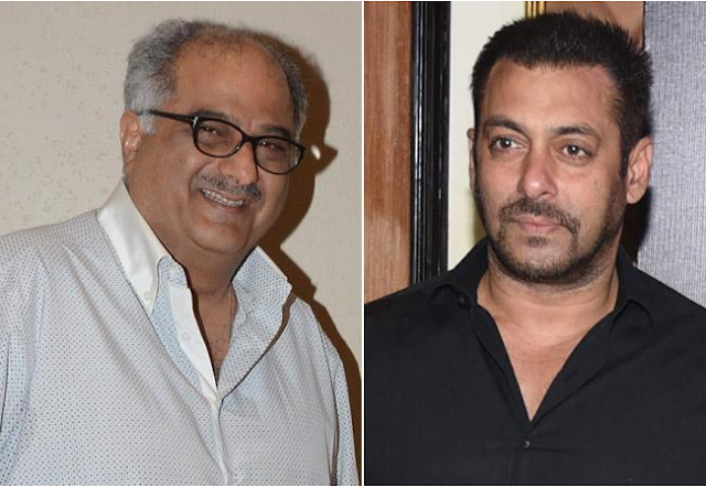 Boney Kapoor confesses that relationship with Salman Khan is currently tense