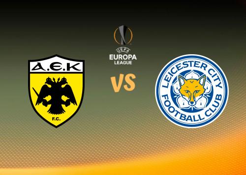 AEK Atenas vs Leicester City  Resumen