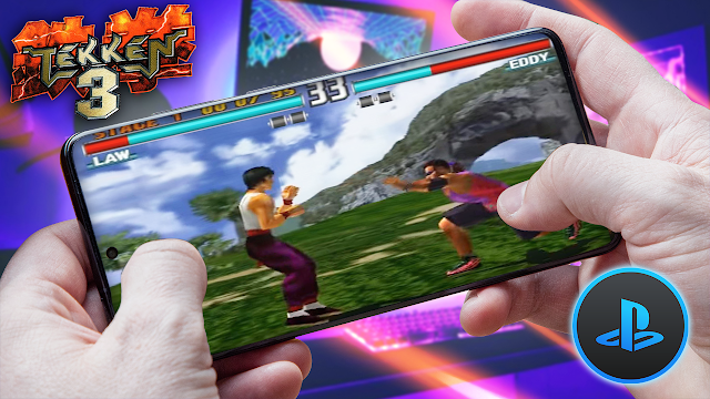 Tekken 3 Para Teléfonos Android (ROM PS1)