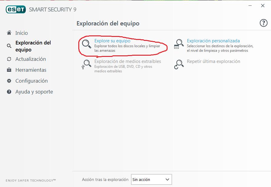 Como Buscar Virus En Mi Pc Con Nod32 Smart Security