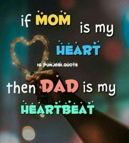 Mom dad status in english