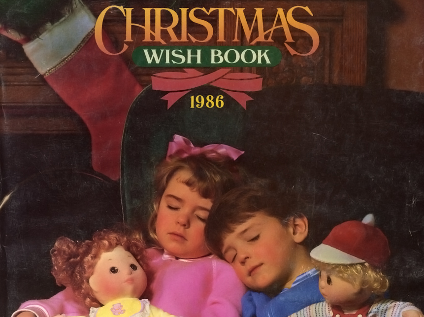 1986 Sears Wish Book Shopping Spree - Rediscover the '80s