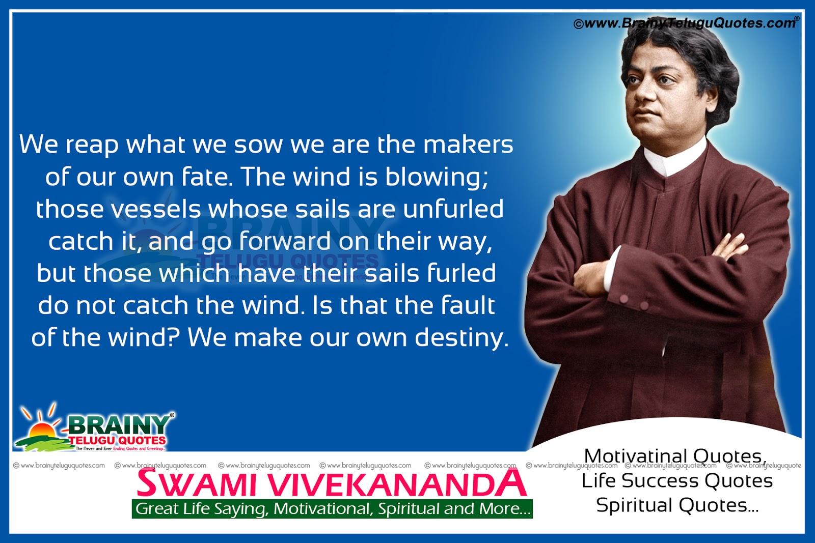 Swami Vivekananda Quotes In Telugu Hd Wallpapers Swami Vivekananda
