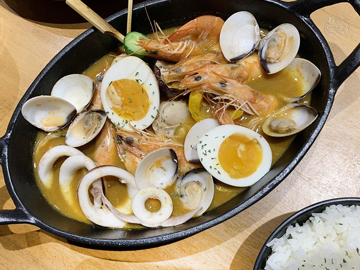 台南|北區 HI!咖哩|燒烤×咖哩的美饌|水果情懷的美味咖哩飯|台南咖裡推薦|聚餐餐廳