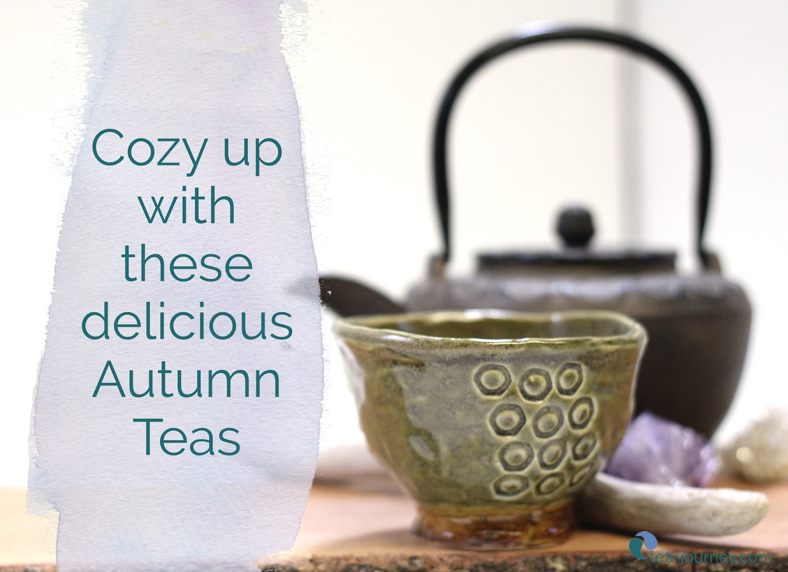Cozy up with a warmer version of fall, with these autumn tasting teas. They pair well also with pie so we won't blame you for bringing some to Thanksgiving Dinner to share.