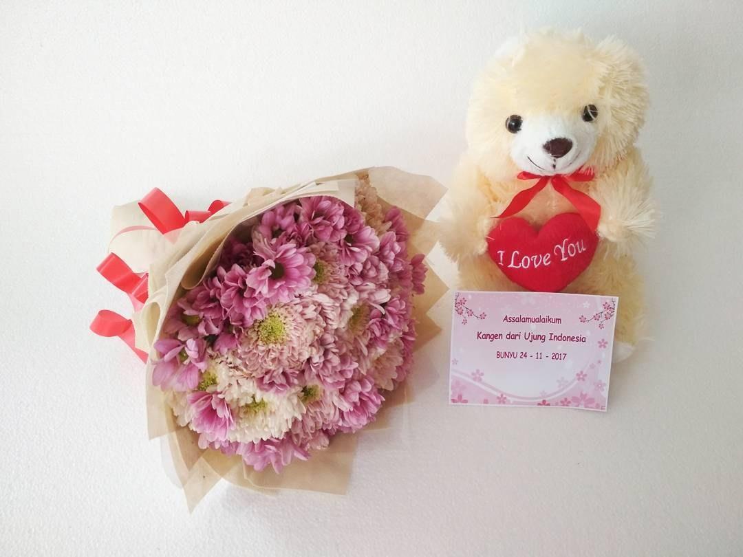 Karangan Bunga Tangan Hand Bouquet 023