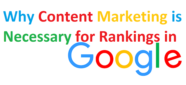 Why Content Marketing is Necessary for Rankings in Google