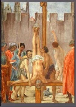 ο Πέτρος τον σταύρωσαν χιαστί, με το κεφάλι προς τα κάτω περί το έτος 64 μ.Χ.