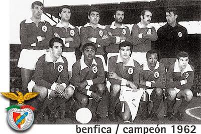 Copa dos Campeões 1961/1962 : Benfica de Eusébio